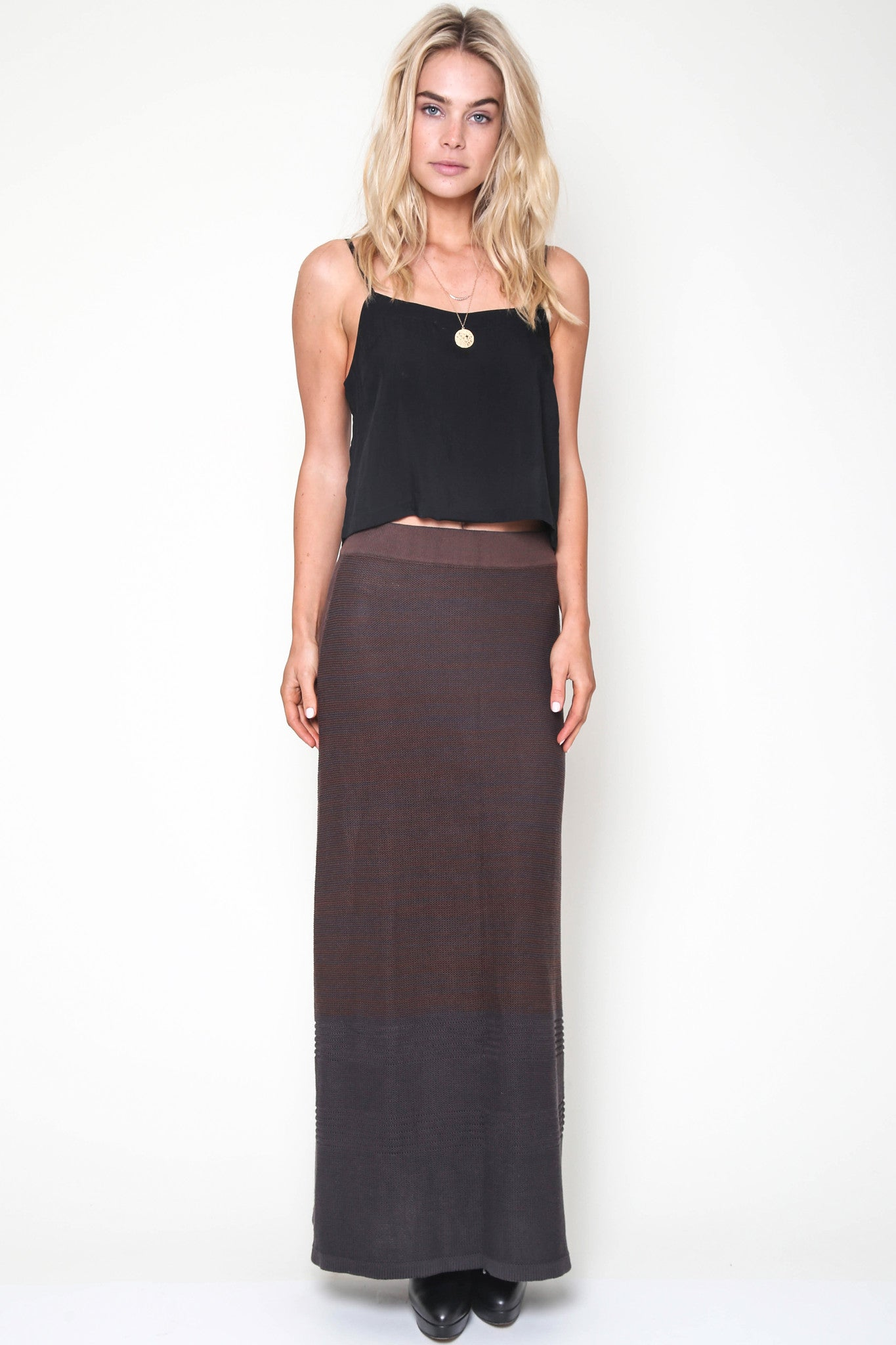 Felix Knit Skirt in Indio