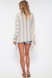 Livie Drape Sweater in Wildest Dreams