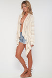 Livie Drape Sweater in Wild Fawn