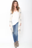 Leona Hooded Wrap Sweater in Southern Breeze