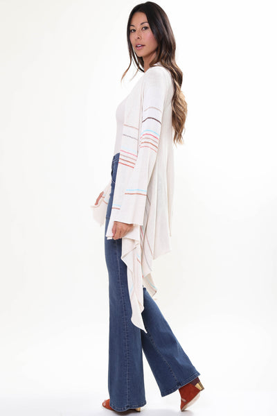 Naples Wrap Sweater in Sahara'LAST ONE'