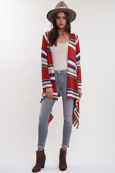 Naples Wrap Sweater in The Weekend