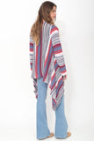 Naples Wrap Sweater in Sea Side