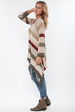 Naples Wrap Sweater in Sand City