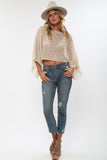 Spellbound Crop Top in Linen