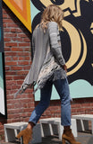 Paxton Fringe Sweater in Ashville
