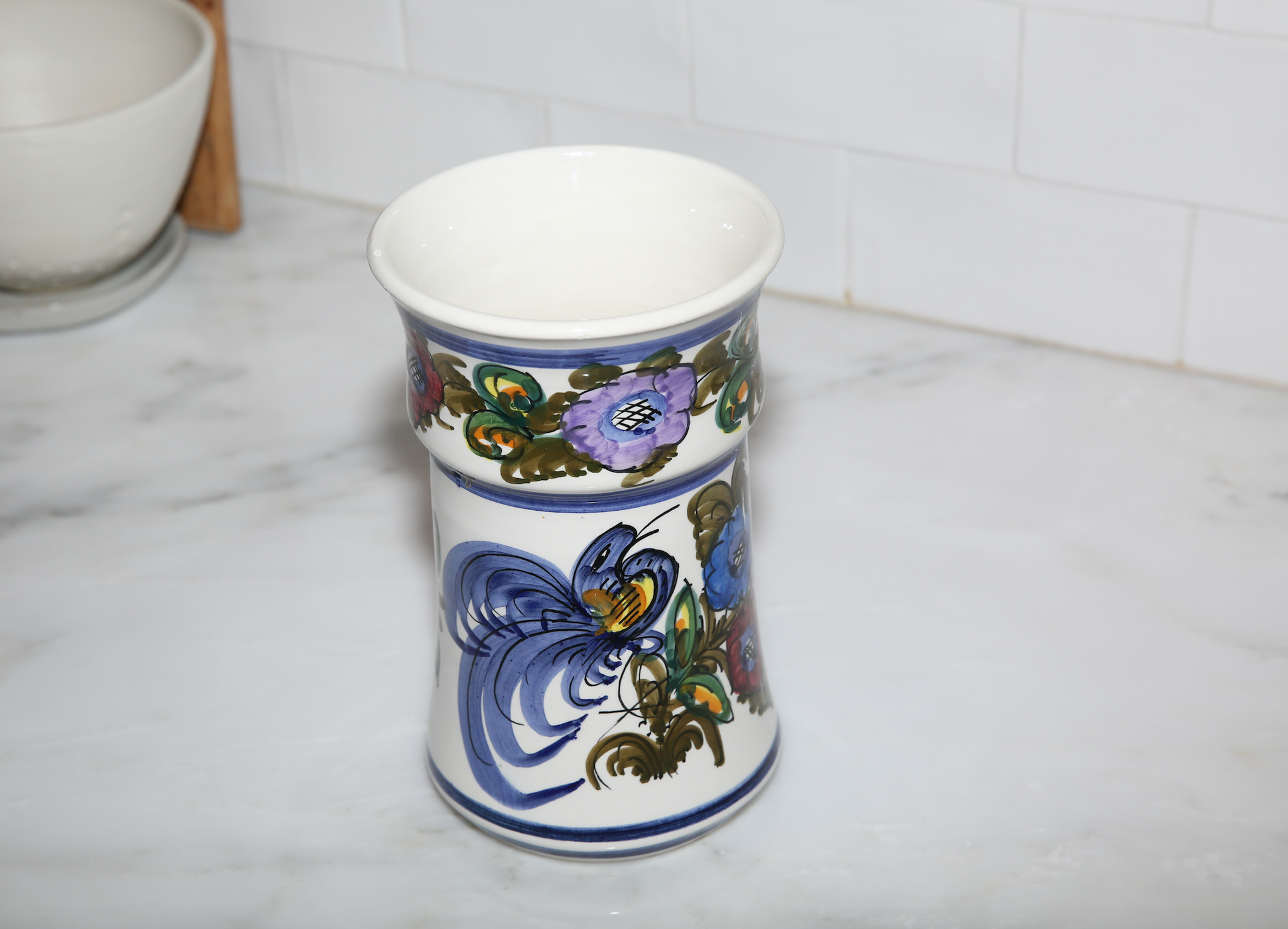 Vintage Greek Ceramic Vase