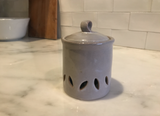 Countertop Garlic Keeper Lt Grey