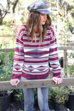 Ellie Pullover Sweater in Normandy