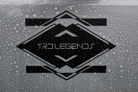 TRD Legends Door Decal