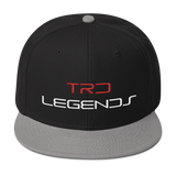 TRD Legends Snapback - Black/Gray/Red