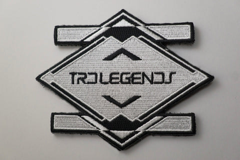 TRD Legends Embroidered Patch