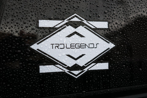 TRD Legends Window Decal