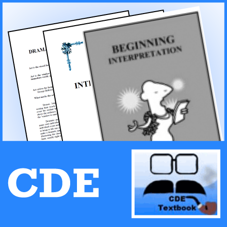 Beginning Interpretation, 2nd Ed. from CDE - SpeechGeek Market