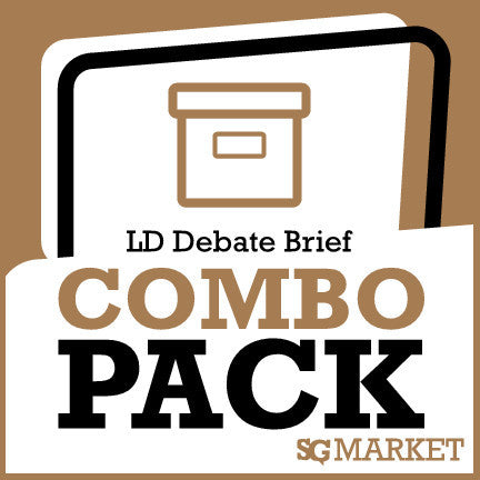 November/December 2013 LD Debate Briefs Package
