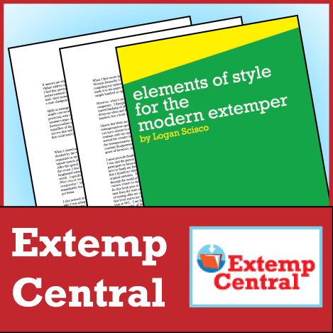 Elements of Style for the Modern Extemper - SpeechGeek Market