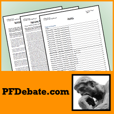 PFDebate Topic Primer September/October 2014