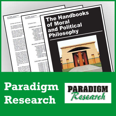 Handbooks of Moral and Political Philosophy: Basic Moral Philosophies - SpeechGeek Market