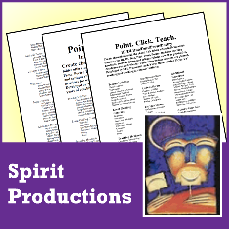 Point. Click. Teach. - Oral Interpretation/Duo/Duet