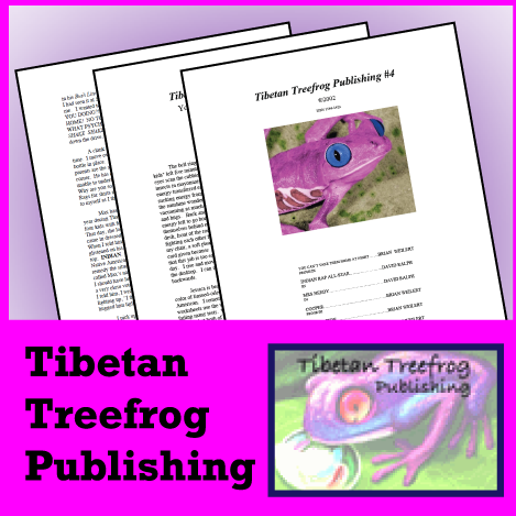 Tibetan Treefrog Publishing: Book Twelve