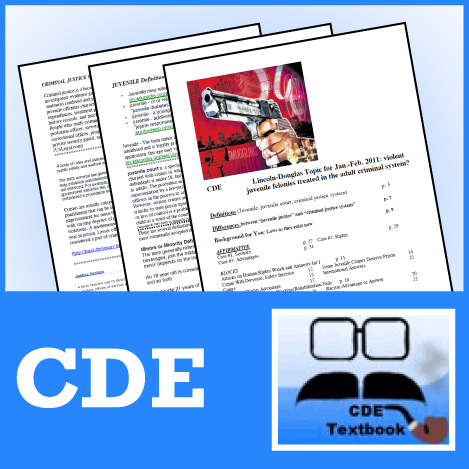 LD Research Series by CDE 2010-11 Subscription - SpeechGeek Market
