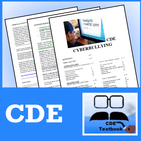 PF New Topic Series by CDE 2010-11 Subscription - SpeechGeek Market