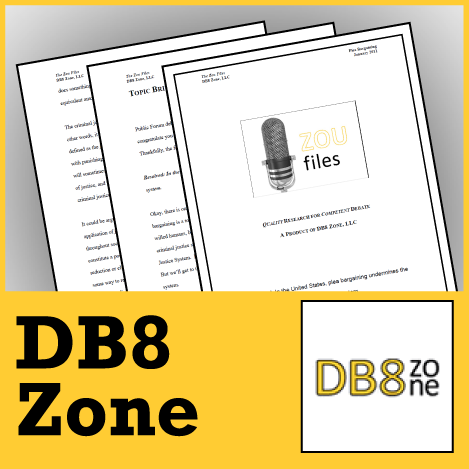 Zou Files by DB8 Zone 2010-11 Subscription - SpeechGeek Market