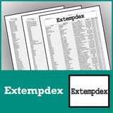 Extempdex (One Year Subscription) - SpeechGeek Market