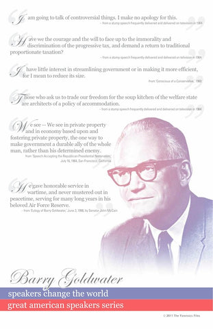 Barry Goldwater Poster - SpeechGeek Market