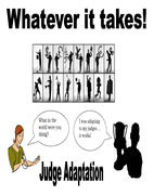 Judge Adaptation Poster - SpeechGeek Market
