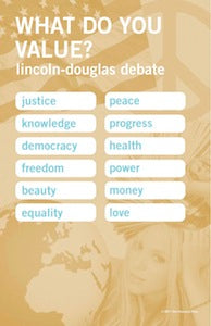 LD Values Poster - SpeechGeek Market