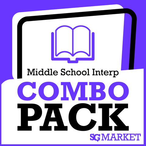 Middle School Interp Package - SpeechGeek Market