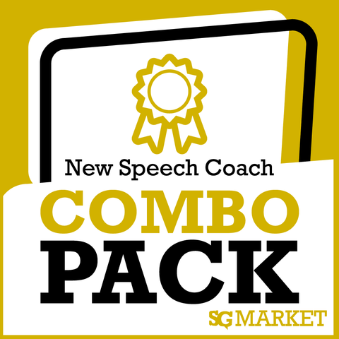 New Speech Coach Package - SpeechGeek Market
