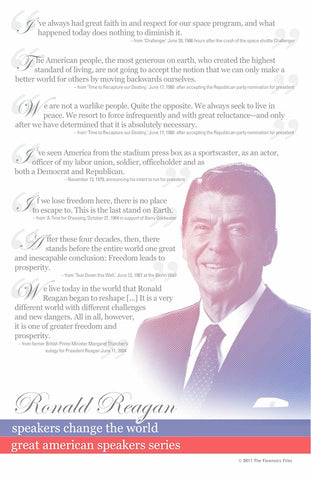 Ronald Reagan Poster - SpeechGeek Market