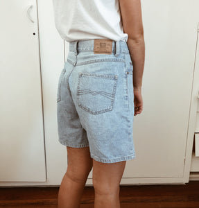 8a219ee459 Vintage Just Jeans High-Waisted Denim Shorts – Peaches & Cream Vintage
