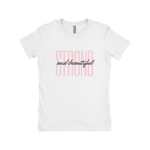 "Clubs ""STRONG AND BEAUTIFUL"" Women T-Shirt"