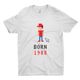 "Clubs ""BORN 1988"" Unisex T-Shirt"