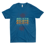 "Clubs ""BELIEVE. YOU'RE HALF WAY THERE"" Unisex T-Shirt"