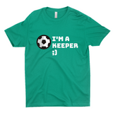 "Clubs ""I'M A KEEPER ;)"" Unisex T-Shirt"