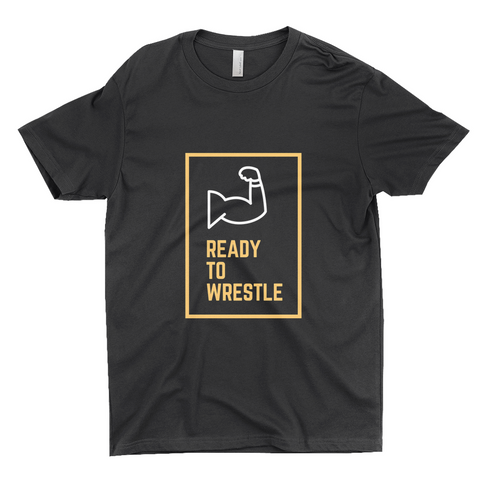"Clubs ""READY TO WRESTLE"" Unisex T-Shirt"