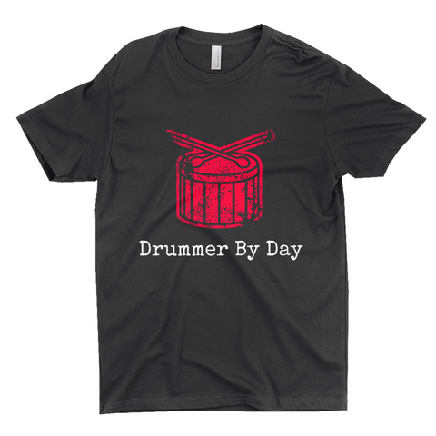 "Clubs ""DRUMMER BY DAY"" Unisex T-Shirt"