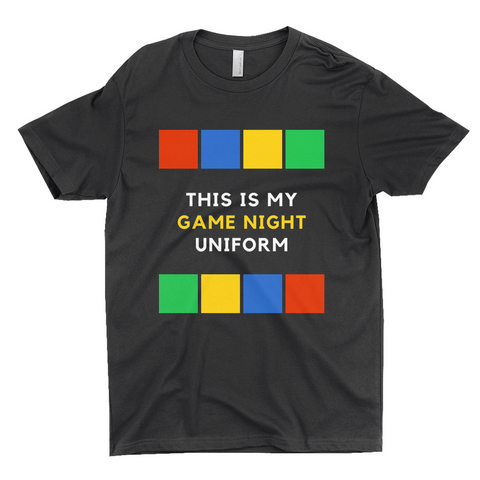 "Clubs ""THIS IS MY GAME NIGHT UNIFORM"" Unisex T-Shirt"