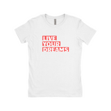 "Clubs ""LIVE YOUR DREAMS"" Women T-Shirt"