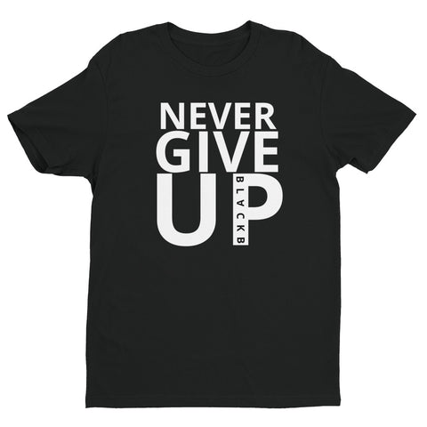 Mo Salah NEVER GIVE UP Shirt Short Sleeve T-shirt