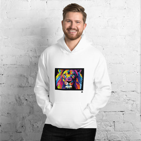 Clubs Colorful Lion Unisex Hoodie