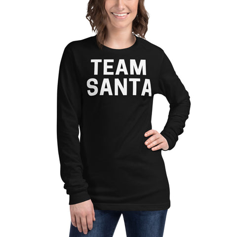 Clubs by UrbanGoat TEAM SANTA Long Sleeve Tee