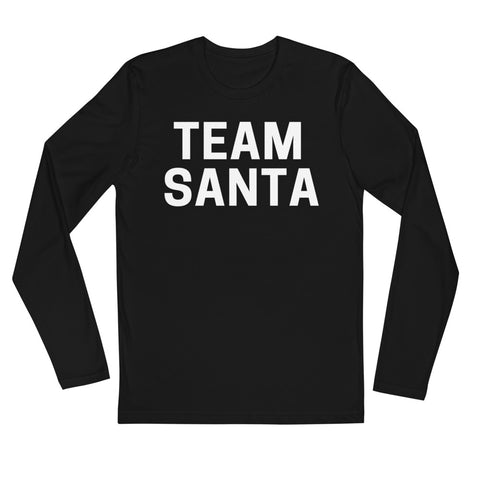 Clubs by UrbanGoat TEAM SANTA Long Sleeve Fitted Crew