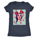Clubs Flower Retro Women's T-Shirt