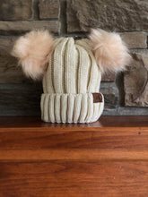 Load image into Gallery viewer, Double Pom Pom Hat