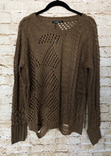 Load image into Gallery viewer, Brown Knit Sweater